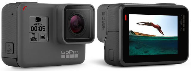 Gopro hero 5 black waterproof snorkeling action cam